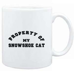 Mug White  PROPERTY OF MY Snowshoe  Cats  Sports