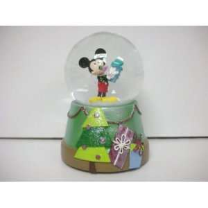 Disney Mickey Collectible Musical Snowglobe