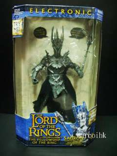 New Lord Of The Rings Rare Electronic Sauron Figure