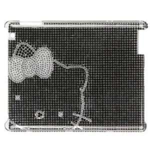 Hello Kitty Crystal & Rhinestone Ipad 2 Case/cover in Blak