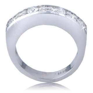 00 CT LADYS ROUND CUT DIAMOND WEDDING BAND RING NEW