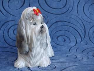 Vintage NORCREST A693 SHIH TZU Dog Figurine