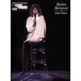 Barbra Streisand One Voice) (9780793540785) Barbra Streisand Books