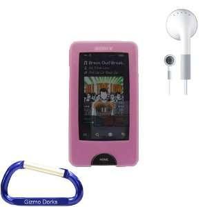 Premium Combo Bundle Kit Pink Silicone Skin Case Cover