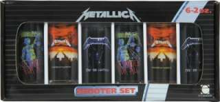 Metallica Rock Band Concert Puppets Lightning Justice Whiskey Shot