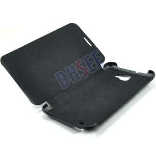 latest OEM Black Flip Case cover for Samsung Galaxy Note N7000 I9220