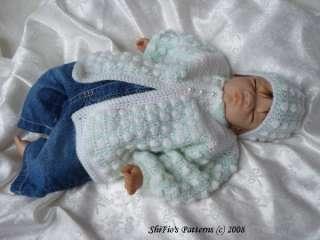 CROCHET PATTERN PATTERNS BABY BOY GIRL REBORN #18