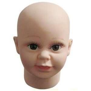 Kid Children Child Mannequin Head for Fashion Wig/hat/jewelry Display