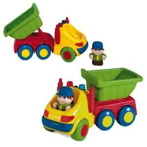 Little Builder Dump Truck Toy Toys & Games