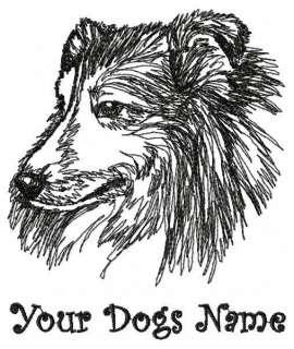 Personalized Shetland Sheepdog Sheltie Sweatshirt