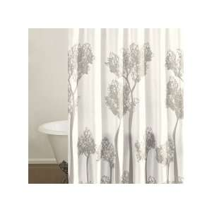 City Scene Tree Top Shower Curtain: Home & Kitchen