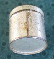 VERY RARE ANTIQUE GERMAN TOBACCO SNUFF TIN BOX 1920s