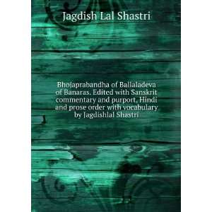 with vocabulary by Jagdishlal Shastri Jagdish Lal Shastri Books