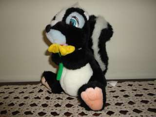 Bambi Movie FLOWER the SKUNK Stuffed Plush Toy