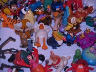 This is a lot of Vintage Disney kids meals toys over 10 lbs. They are