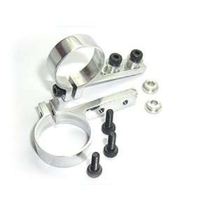 Tail Servo Mount, Silver Mini Titan E325 Toys & Games