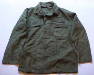 War II Era Army Military Shirt Jacket Corporal Chevron Patches