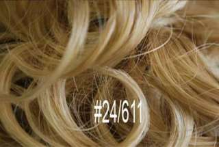 AWESOME CURLY SCRUNCHIE ELASTIC HAIR PIECE   D