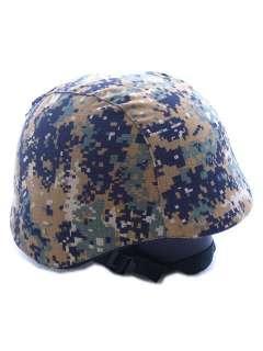 USMC Army Digital Camo Woodland M88 PASGT Helmet Coverã'â€
