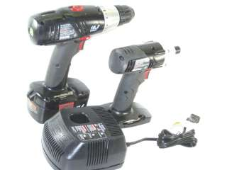 CRAFTSMAN 19.2 VOLT DRILL AND IMPACT DRILL COMBO