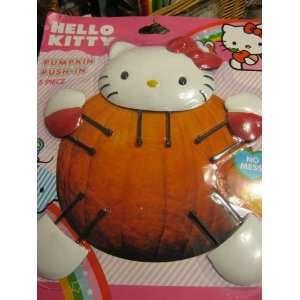 Pumpkin Push in Set Make a Cute Hello Kitty Pumpkin Toys & Games