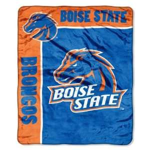 NCAA Boise State Broncos SCHOOL SPIRIT 50x60 Raschel Throw