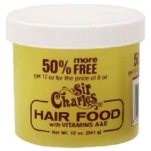 Sir Charles, Conditioner Hair Food, 8 Ounce  Grocery