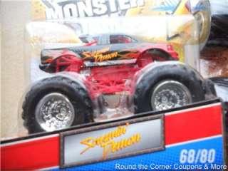 2011 HOT WHEELS Monster JAM #68 SCREAMIN DEMON TRUCK