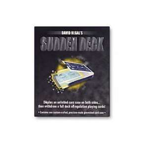 Sudden Deck by David Regal (blue) Toys & Games