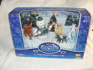 RUDOLPH ISLAND OF MISFIT TOYS WELCOME TO MISFIT ISLAND TOYS frosty NIB