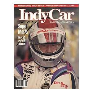 Mario Andretti Signed Indy Car Racing Magazine May 1993