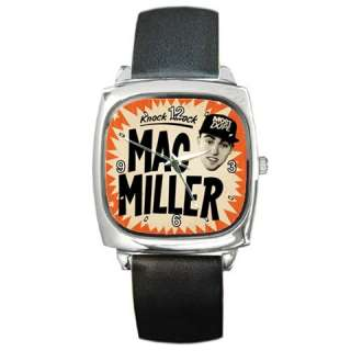 Mac Miller Knock Knock Custom Square Metal Watch