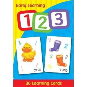 Early Learning Cards 123 (9781921708251): Books