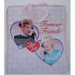 I Love Lucy Forever Friends Large Woven Tote Bag