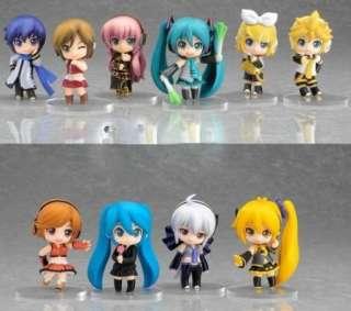 New Vocaloid HATSUNE MIKU Family Figures Rin Len 10 pcs