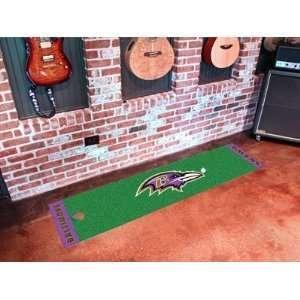 NFL Baltimore Ravens Putting Green Runner 18 X 72