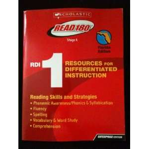 Read RDI 1 Resources for Differentiated Instruction Reading Skills and