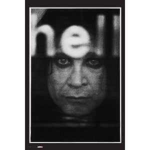 Ozzy Osbourne Black & White Portrait, 20 x 30 Poster Print