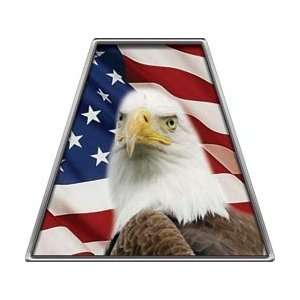 American Flag Eagle Reflective Firefighter Fire Helmet Tetrahedrons
