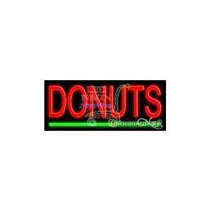 Donuts Neon Sign 10 Tall x 24 Wide x 3 Deep Everything