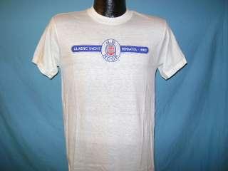 vintage J.G. HOOK CLASSIC YACHT REGATTA 1983 SOFT THIN UNWORN t shirt