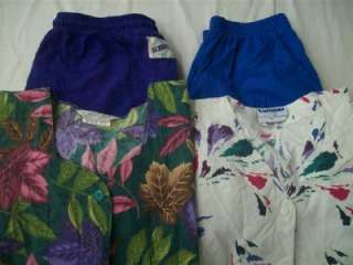 Medical Dental Scrubs Lot of 9 Printed Outfits Sets Size Medium