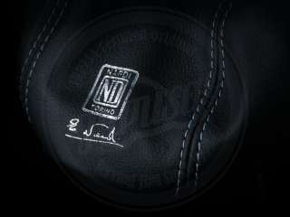 Genuine Leather Nardi Shift Boot with embossed logo and silver thread.