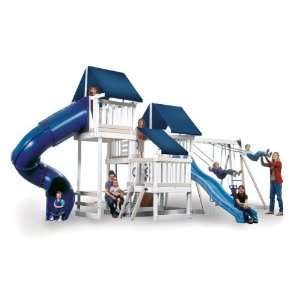 Kidwise Monkey Play Set IV Wood Swing Set: Toys & Games