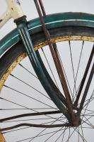 Schwinn D 13 Mens Bicycle 19 Bike Green Skiptooth Bicycle Rat Rod