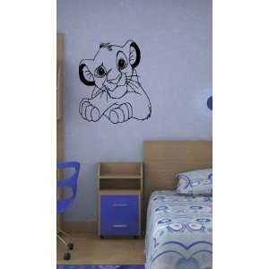 LION KING WALL MURAL STICKER BABY ROOM NURSERY ?26 Home