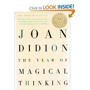 The Year Of Magical Thinking Joan Didion Books