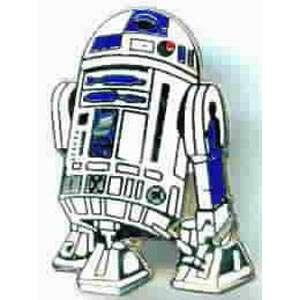 Classic Star Wars R2D2 Figure Cut Out Cloisonne Pin