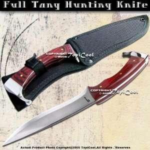 11  Razor Sharp Full Tang Hunting Knife W/ Shealth New