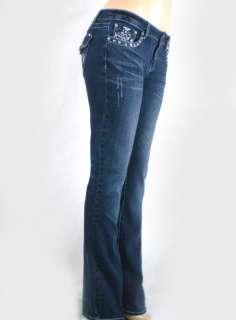 LA Idol Bootcut Jeans Vintage Cross Rhinestone Pts.1 13
